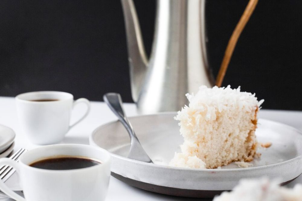 Easy Coconut Cake: Boxed Cake Mix Hack