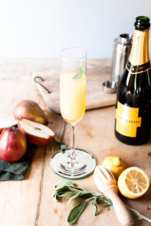 Fall Champagne Recipes: My Photos with Chandon