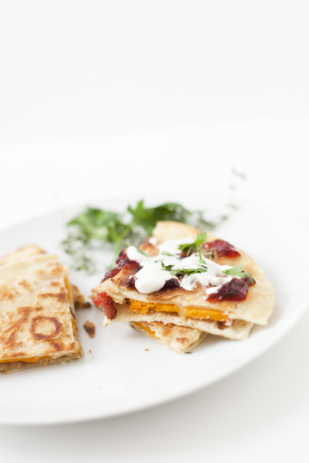 Fall Butternut Squash Quesadillas