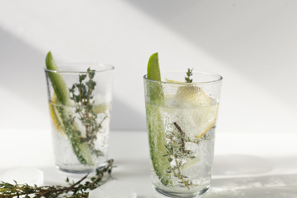 Lightened up Winter Cocktails: Gin Cup
