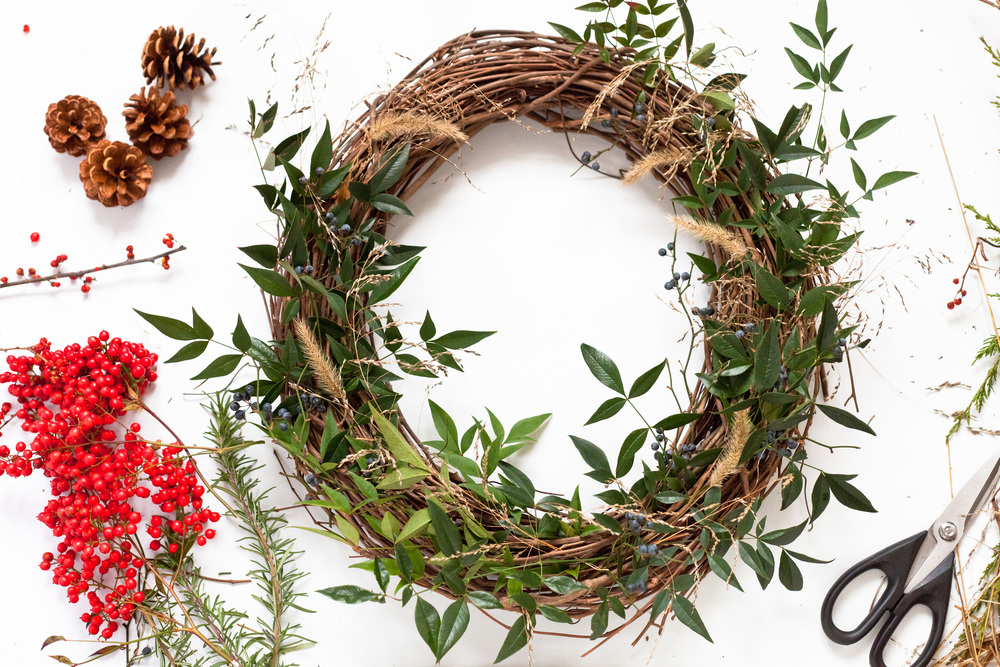 Wreath Making Gathering
