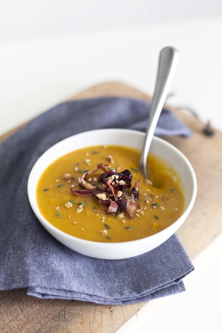 Cream Free Pumpkin Soup
