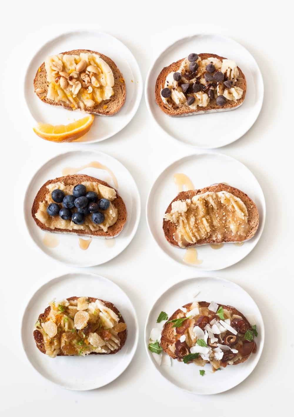 6 Banana Toast Flavors: Bye Avocado Toast!