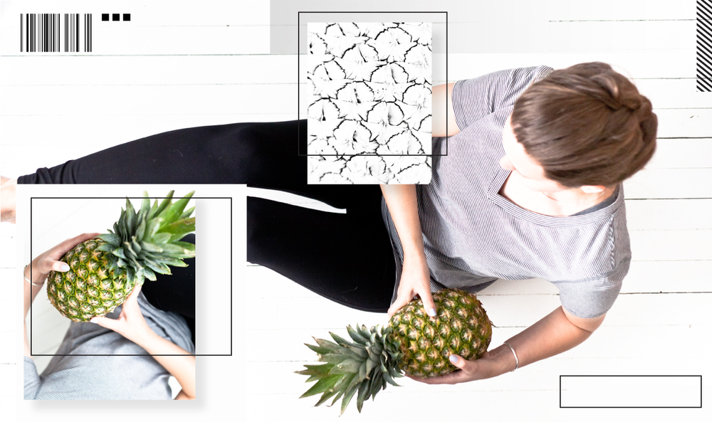 minimalist gap fitness basics pineapple