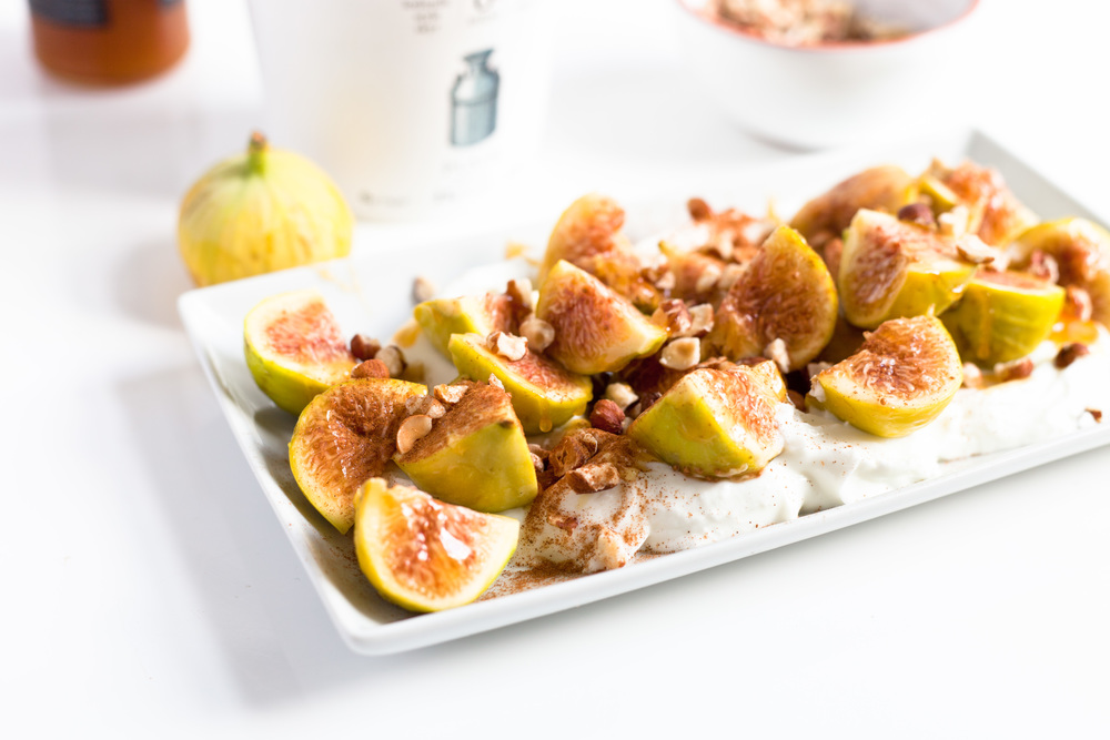 Manuka Honey Fresh Fig and Yogurt Breakfast