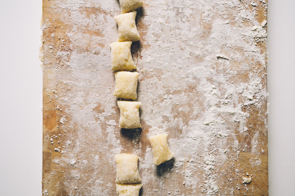 Ginger Poppy Seed Home Made Gnocchi recipe