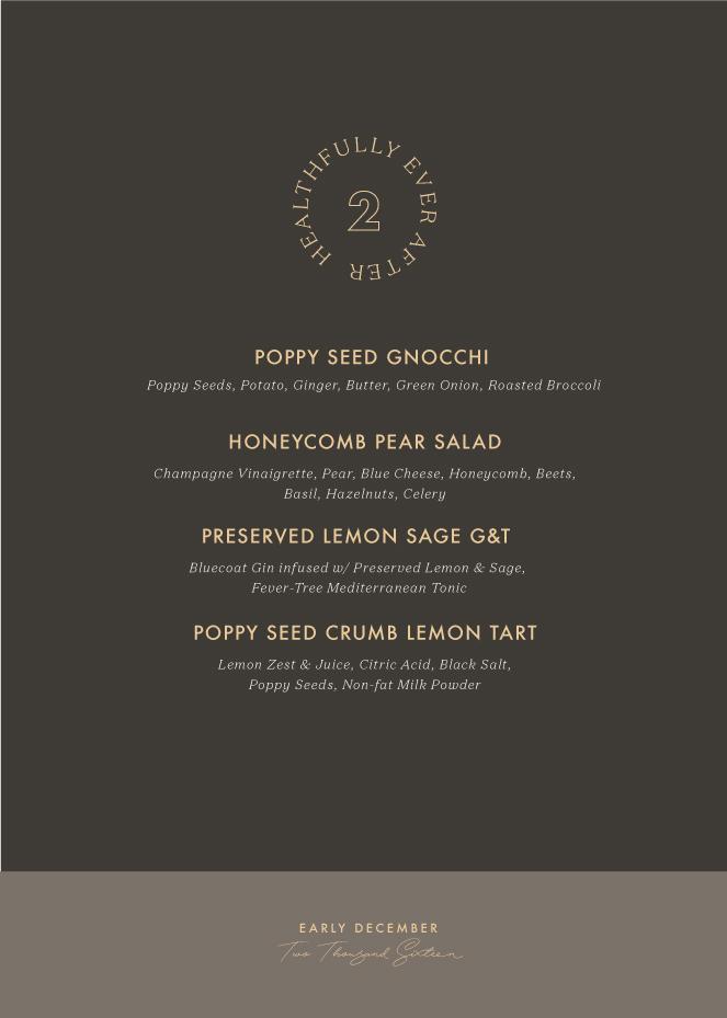 december menu planning full menu