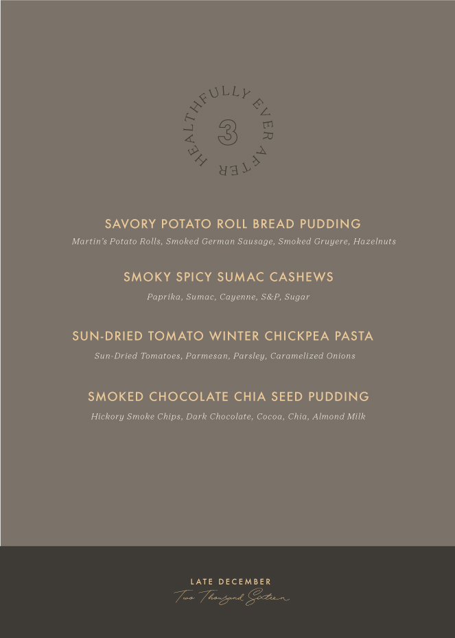 Late December 2016 Early January 2017 Menu