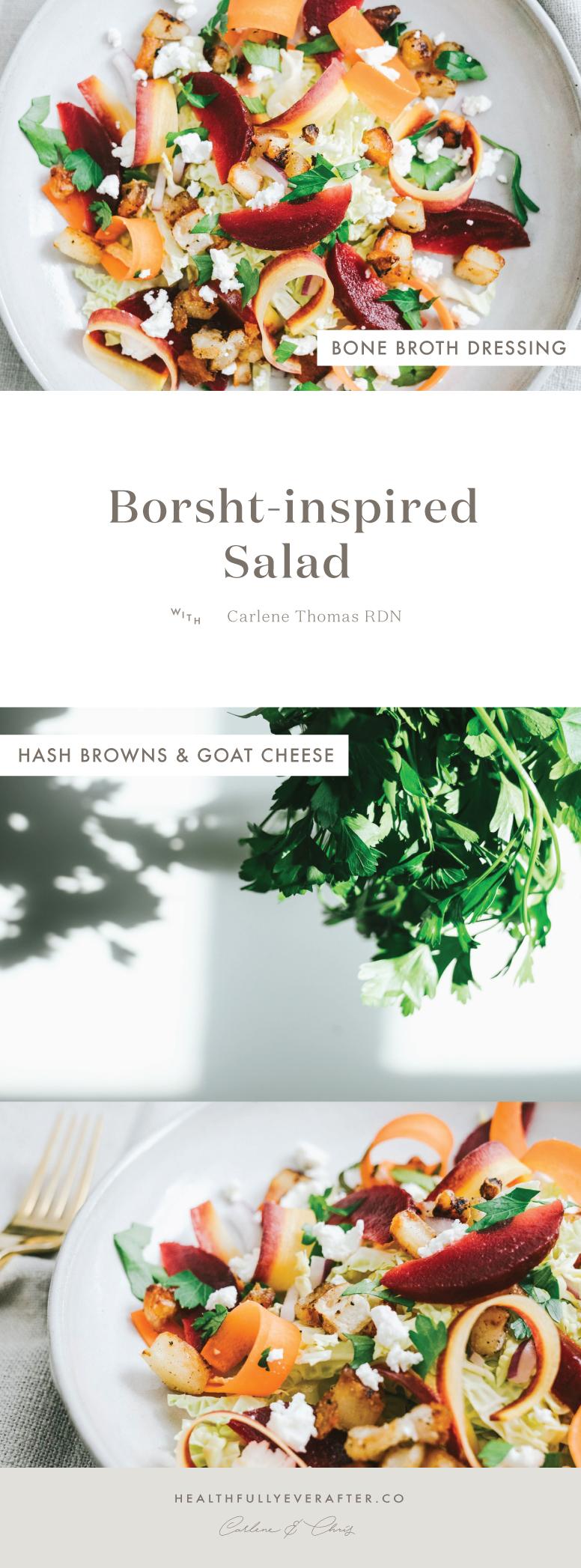 borscht salad recipe