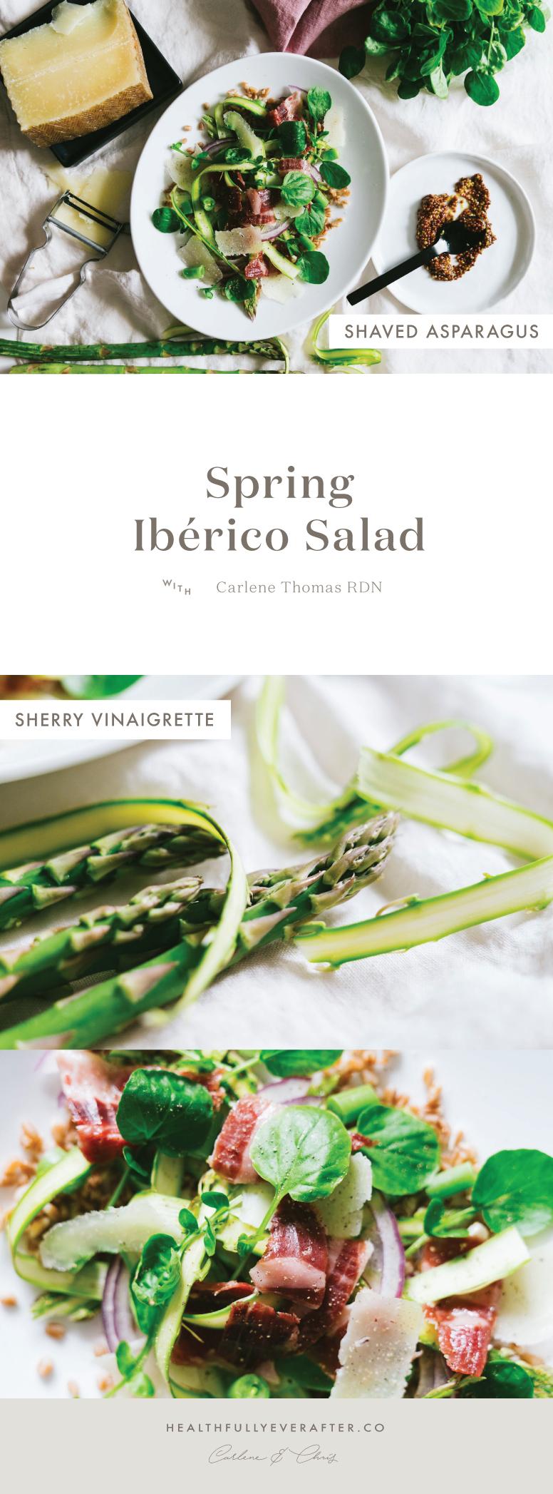 jamon iberico salad