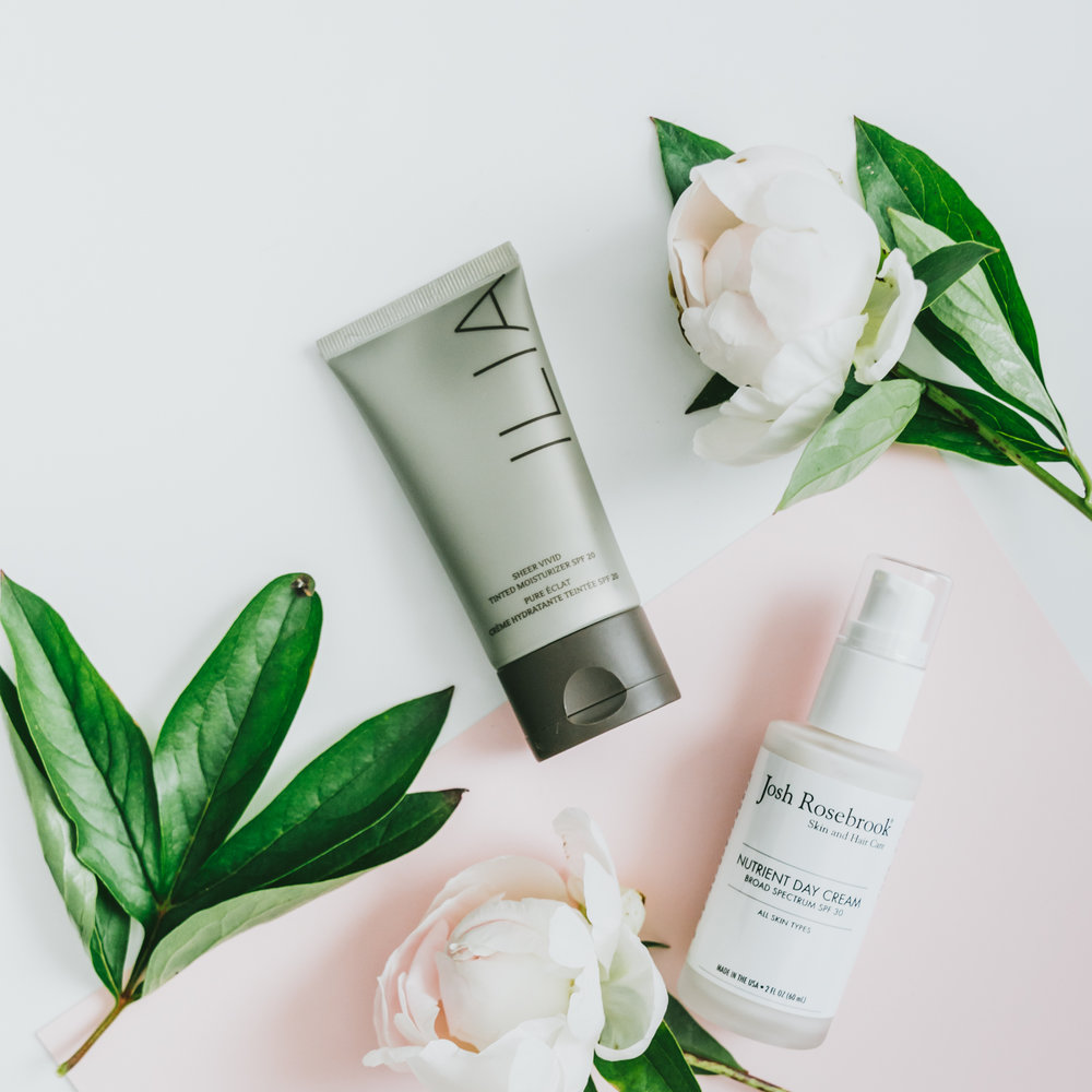 clean green beauty efficient two in one summer sun spf products