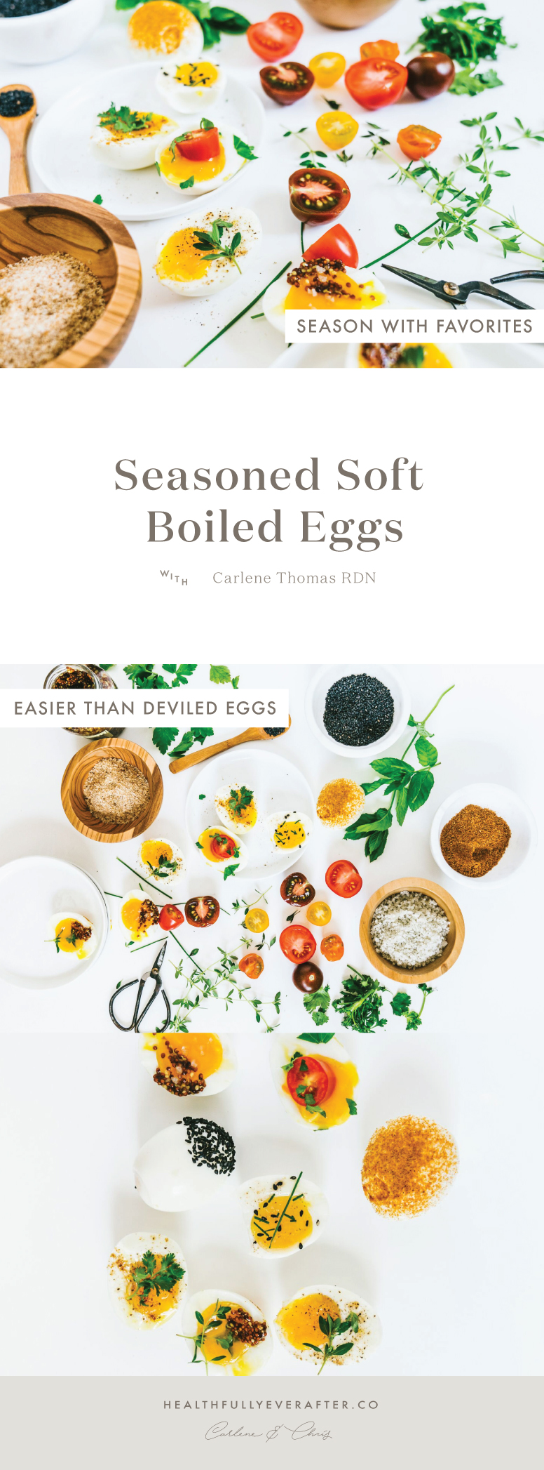 soft boiled dipped eggs with seasoning