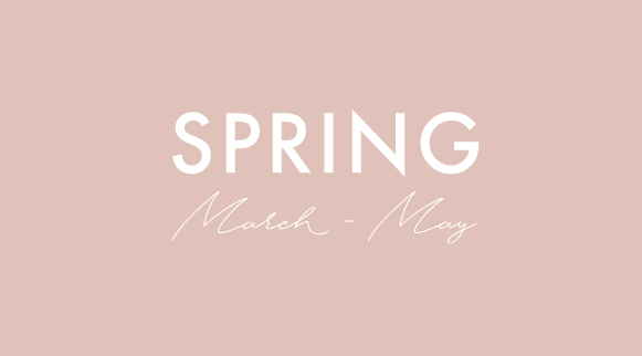 seasonal spring menus