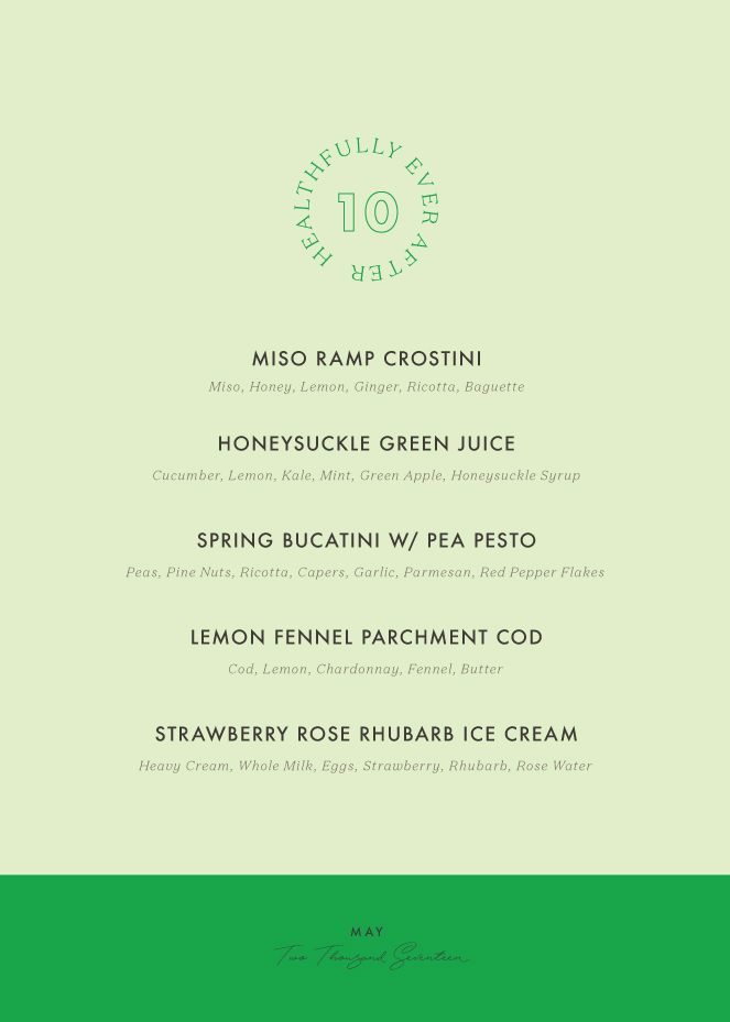 may seasonal menu