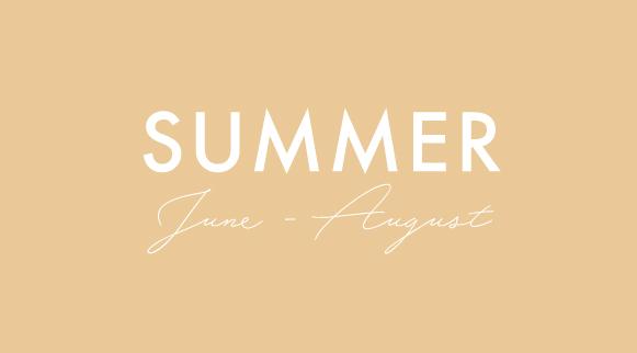 summer seasonal recipe menus