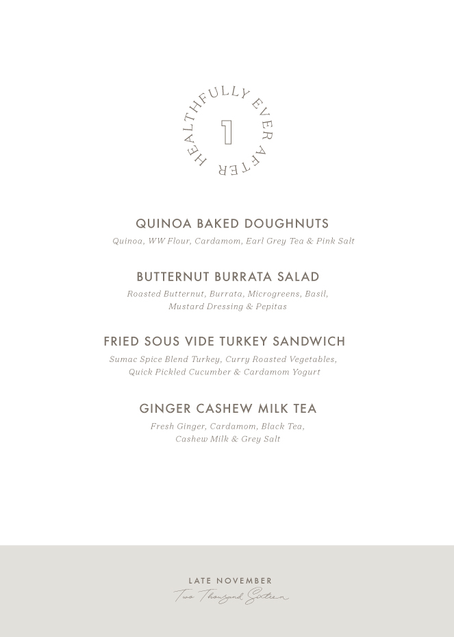 november seasonal menu