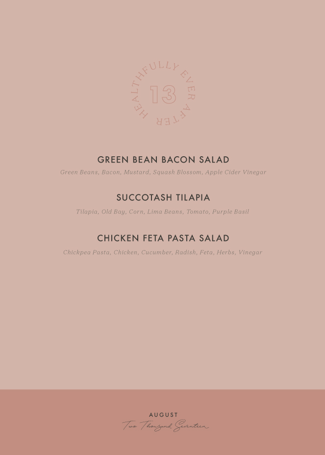 august seasonal menu