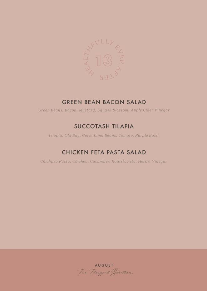 august 2017 seasonal menu