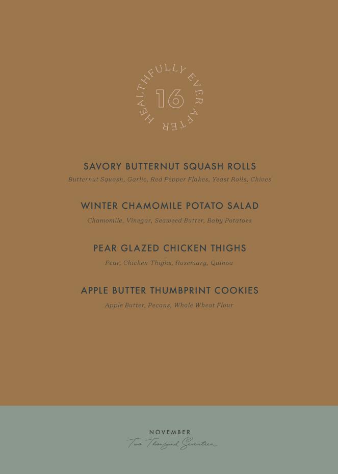 november 2017 seasonal menu
