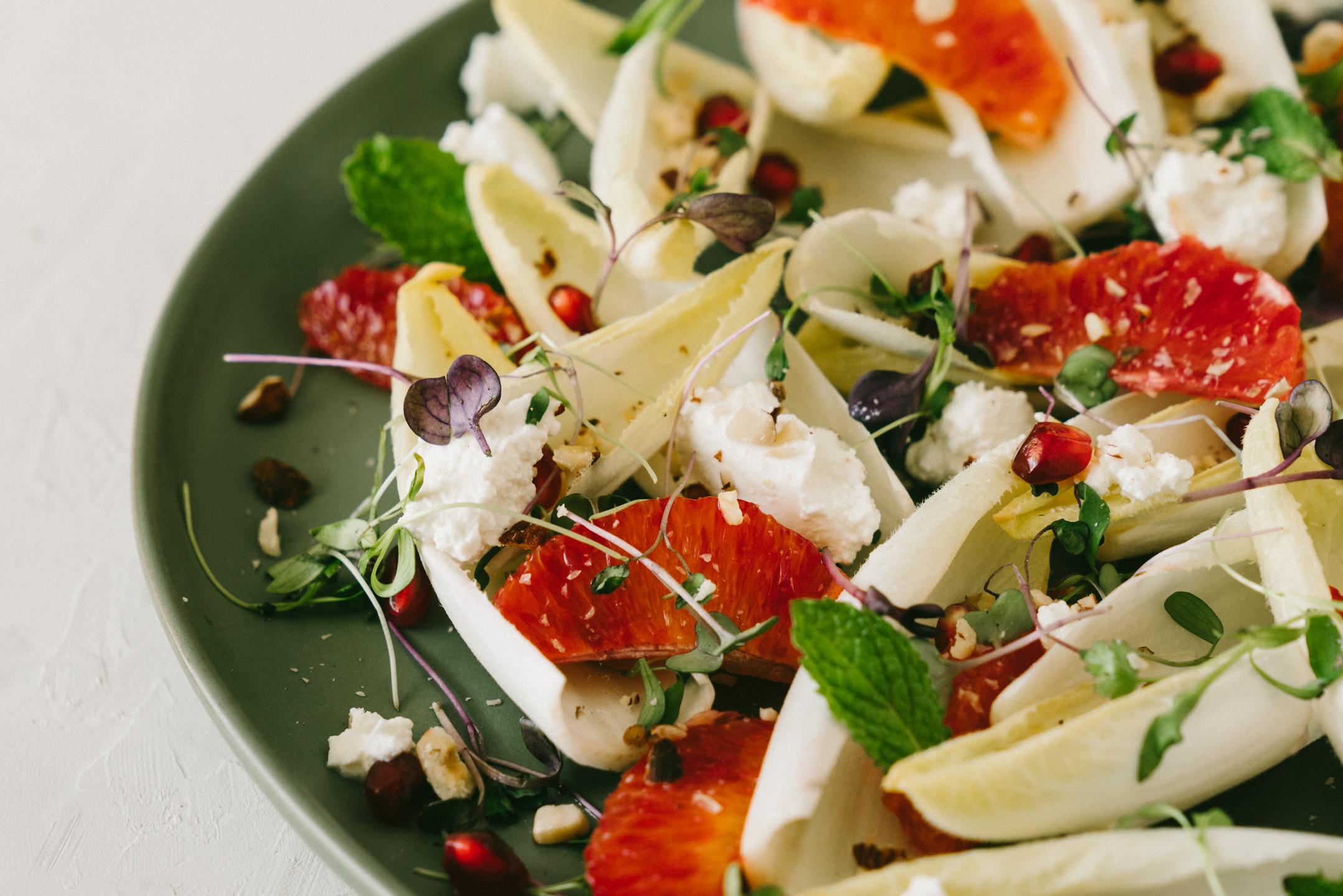 Satsuma Endive Winter Salad — Healthfully Ever After