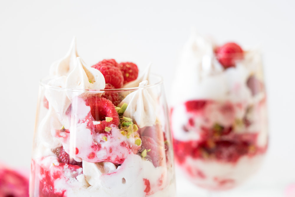 Raspberry Rose Eton Mess