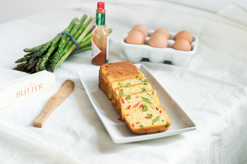 Spring Egg Bread Loaf (Vegetarian) Brunch Idea