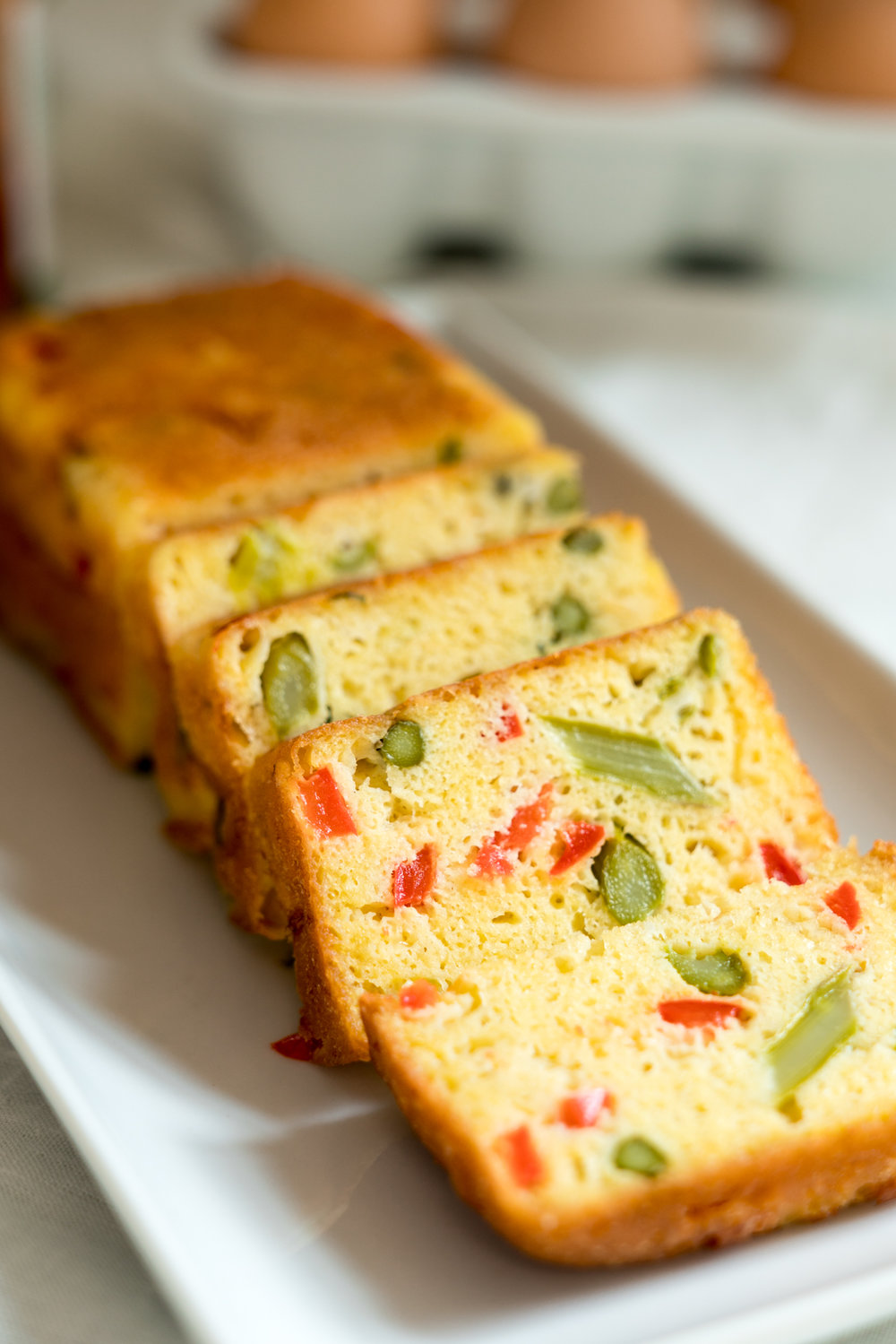 Spring Egg Bread Loaf (Vegetarian) Brunch Recipe