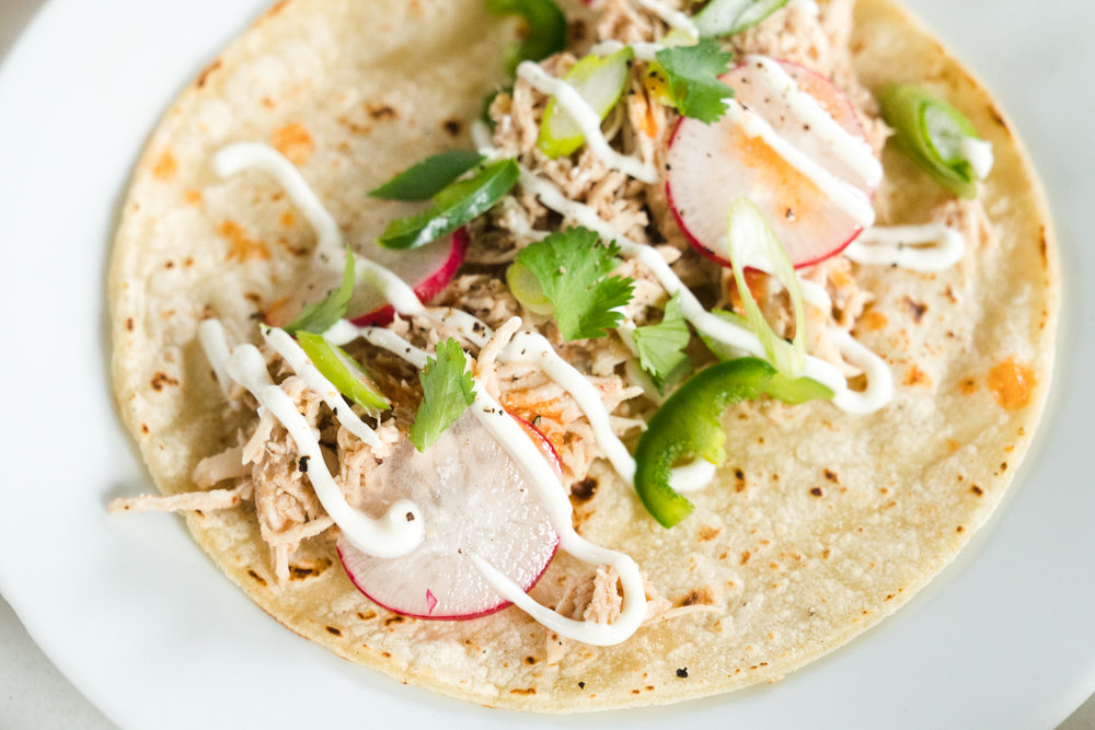 Five Spice Chicken Tacos