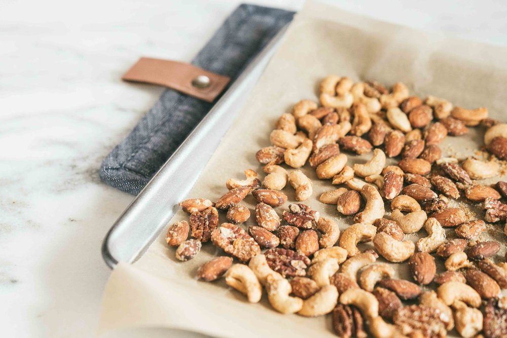 Roast Chicken Flavored Party Nuts Recipe