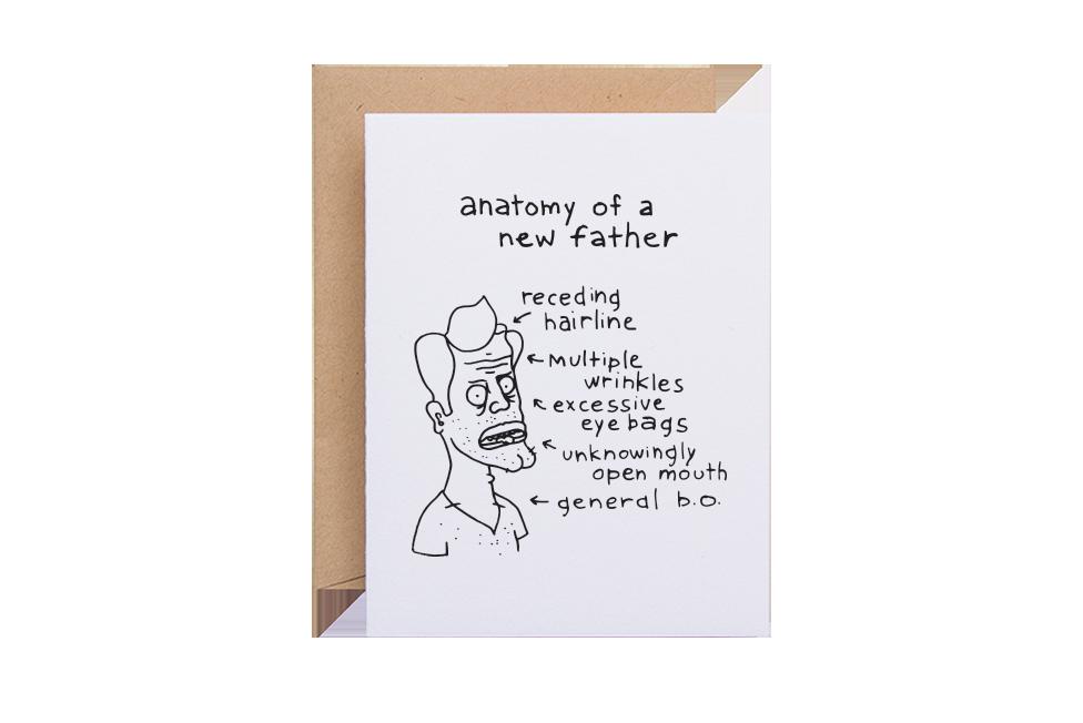 New Father Anatomy Sparkvites