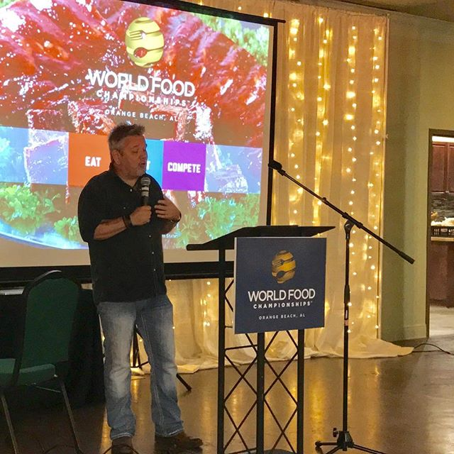 Teaching the World Food Championships Food Champ judging class in Orange Beach, AL. There are now over 60 new certified Food Champ judges. #wfc #foodsport #icouldlivehere #magicalplace