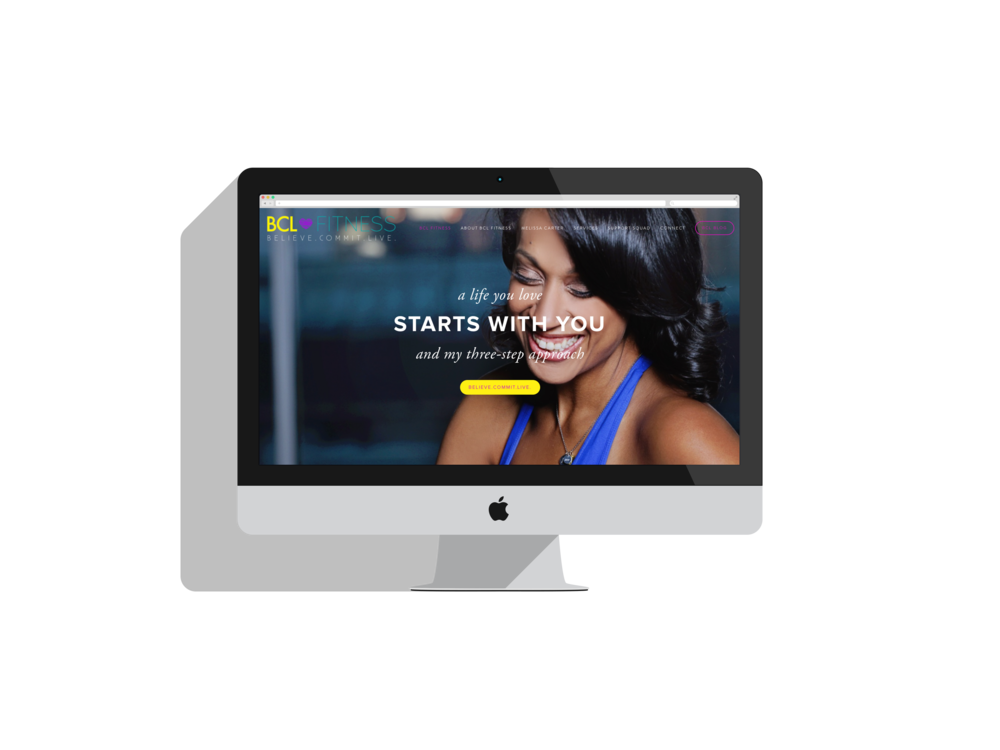 BCL FITNESS | NEW BRANDING + WEBSITE