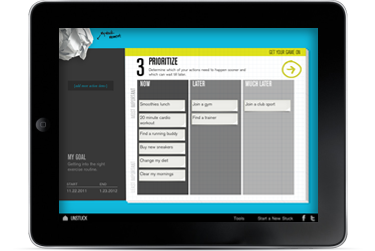 Unstuck iPad App