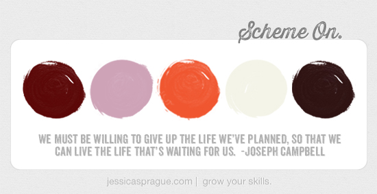 Joseph Campbell, {Color} Scheme On by Jessica Sprague.