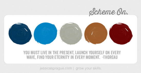 {Color} Scheme On, by Jessica Sprague