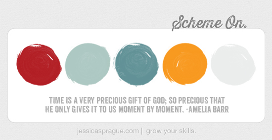 {Color} Scheme On by Jessica Sprague