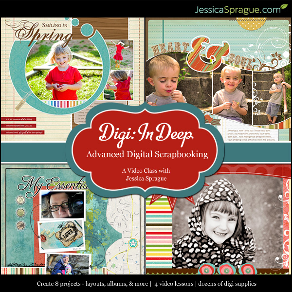 Digital Scrapbooking 3: Digi In Deep class 3 of 4