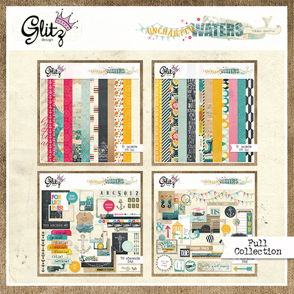 Uncharted Waters collection by Glitz Design