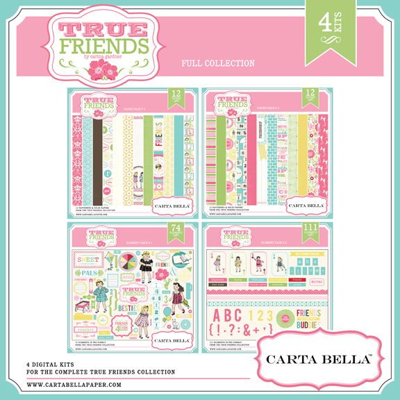 True Friends collection by Carta Bella