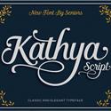 the kathya script font