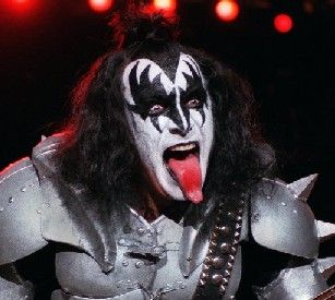 Gene Simmons' tongue. Also Gene Simmons.