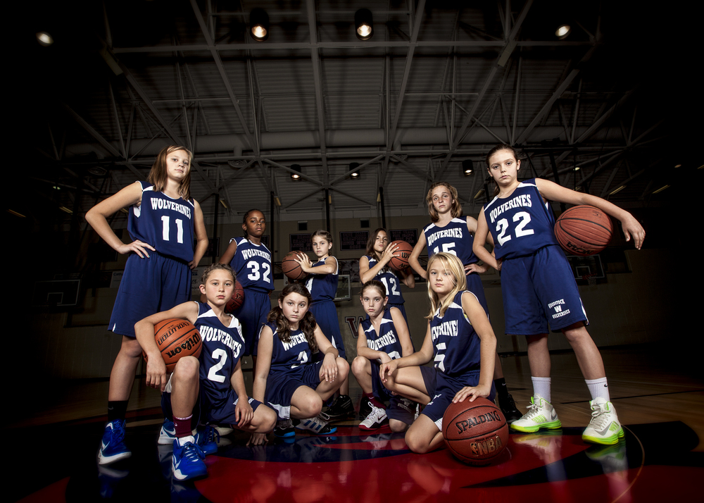 Woodstock Wolverines 5th Grade Girls Basketball