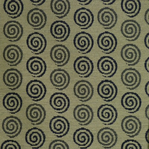 Blue Spirals Chenille Upholstery Fabric Yard GreatFabricscom - Chenille upholstery fabric