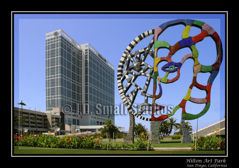 Hilton Art Park, San Diego, California
