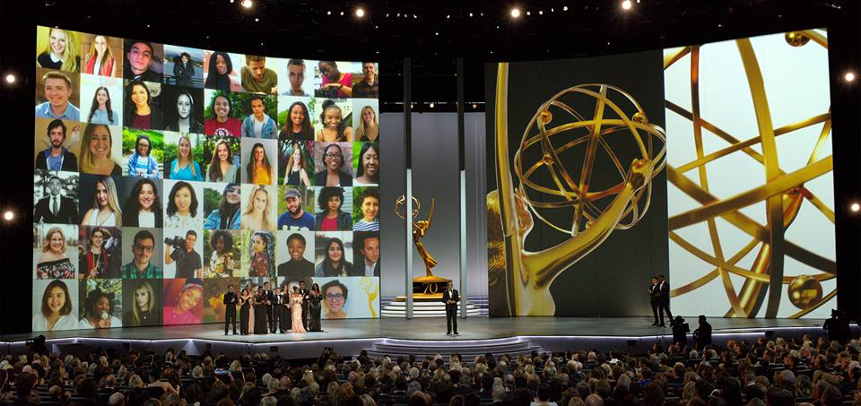 TV Academy Interns at 2018 Emmys - I'm in Upper Right Corner.jpg