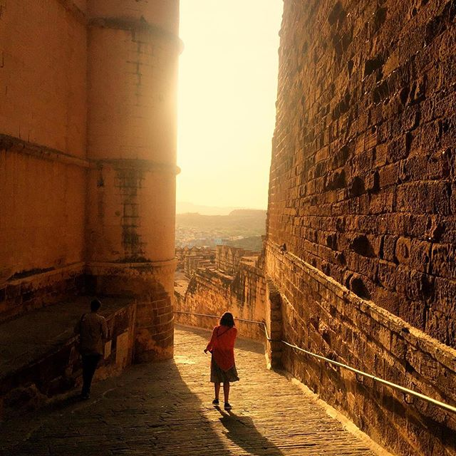 chronicles of #india : chasing golden light