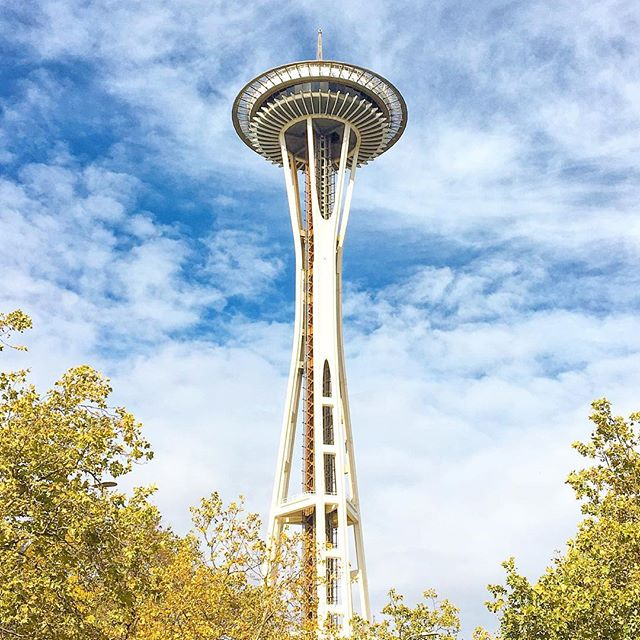 #pacificnorthwest adventures, space needle seattle
