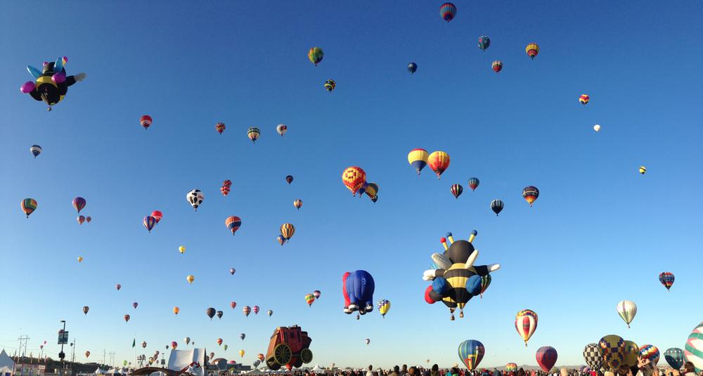 Albuquerque Balloon Fest, Oct 2013