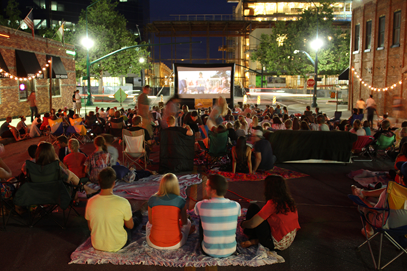 OUTDOOR SUMMER CINEMA (Film Series)