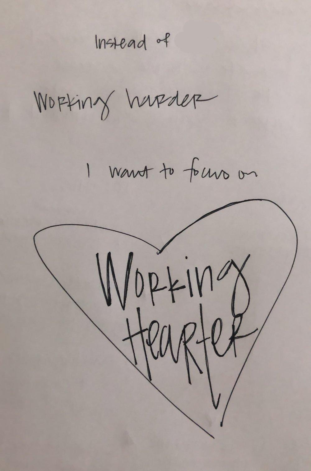 working hearter
